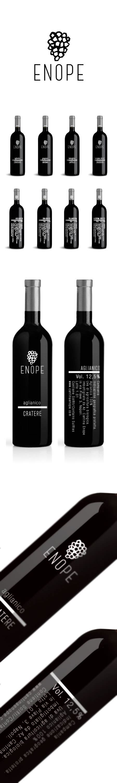 adobe illustrator cs6 wine etichetta vino enope wine label on behance