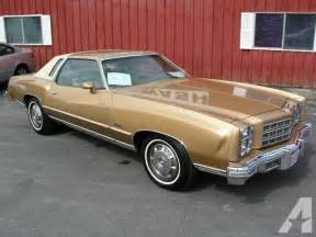 1977 chevrolet monte carlo for sale in portage wisconsin