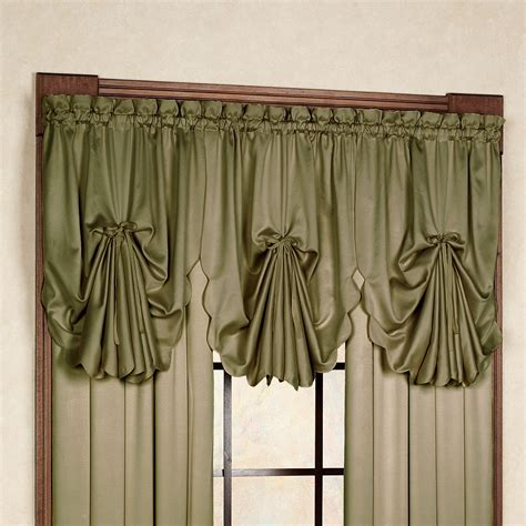 fan curtains concord satin fan valance 30 x 40 touch of class