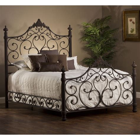 the most brilliant wrought iron king headboard popular