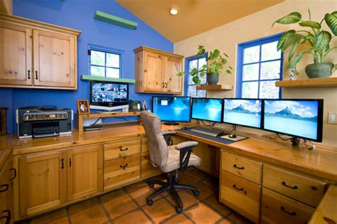 high tech home office garden oasis high tech home office eclectic home