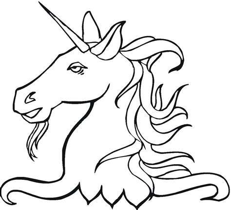 coloring pages unicorn head free head unicorn coloring pages coloringsuite com