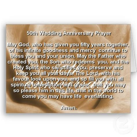 Wedding Anniversary Prayer Quote by 50th Wedding Anniversary Christian Quotes Quotesgram