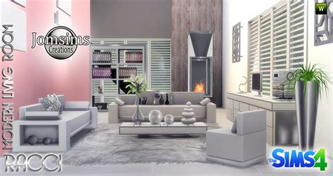 4 living room set my sims 4 racci living room set by jomsims