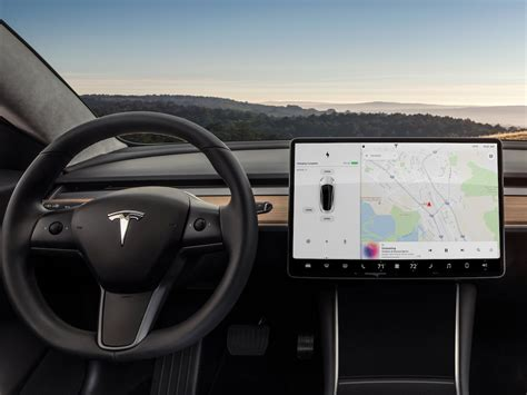 tesla inside tesla model 3 minimalist interior again business insider