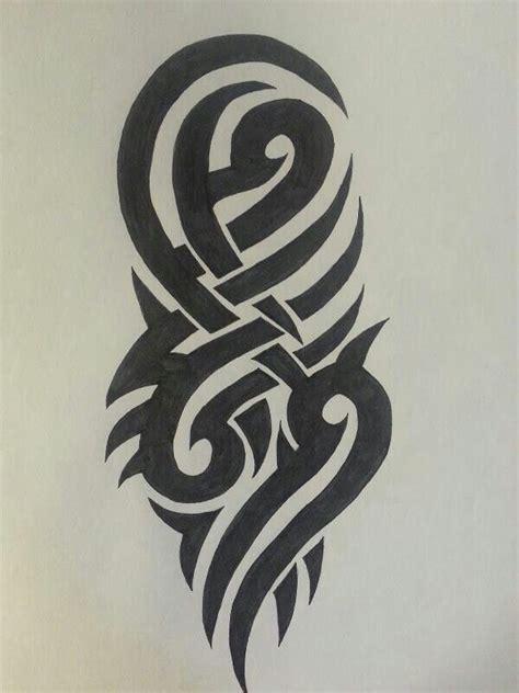 tattoo tribal drawing tool quot tribal 1 quot 10 00 http www artbreak com stellar