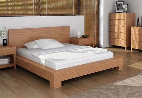 Wood Bed Frame Design Plans