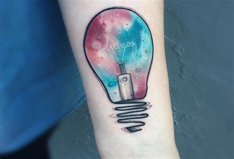 lightbulb tattoo 50 most creative light bulb designs and ideas