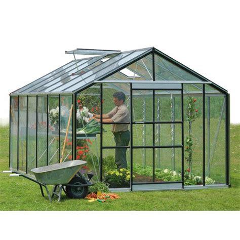 serre de jardin acd serranova 24 a serre en verre horticole