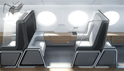 boom interieur update boom supersonic airline interior on behance