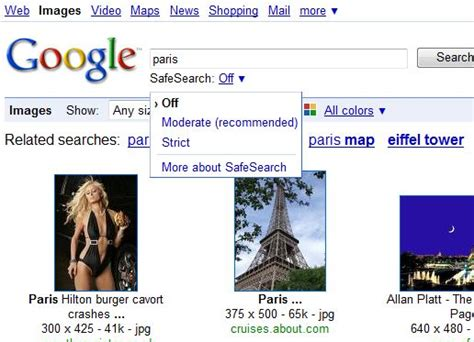 Legit Search Faster Access To Image Search Adds A New Safe Search Drop