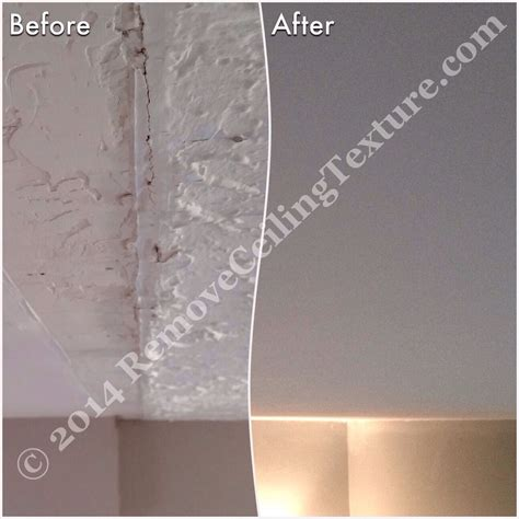 ceiling texture removal removing popcorn ceilings smooth ceilings after wall