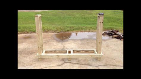 diy wood rack   youtube