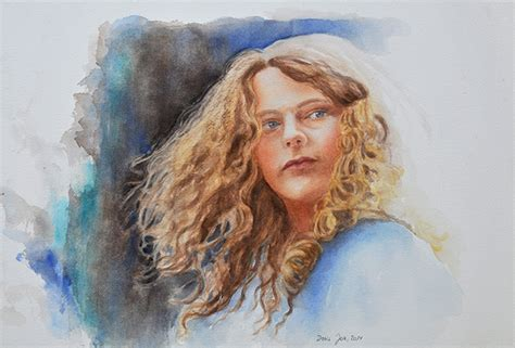watercolor tutorial hair watercolor painting oil painting watercolor tips art