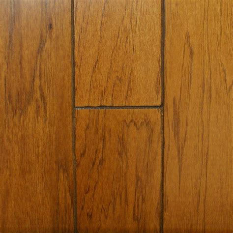 homedpot engireed 5 engireed wood millstead take home sle hickory golden rustic engineered hardwood flooring 5 in x 7 in