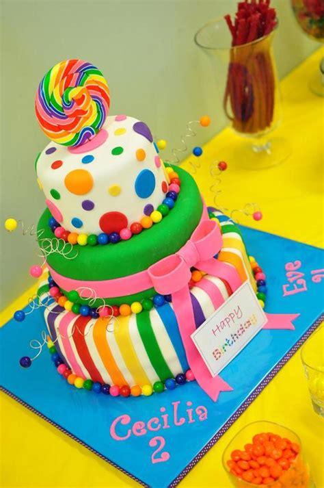 lollipop kuchen candyland cake cakecentral