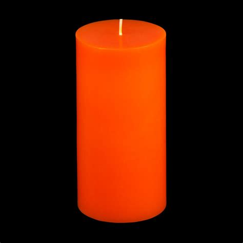 Orange Candle 3x6 Orange Pillar Candle