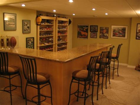 rec room store shelves bar built in with wall display and store room shelves