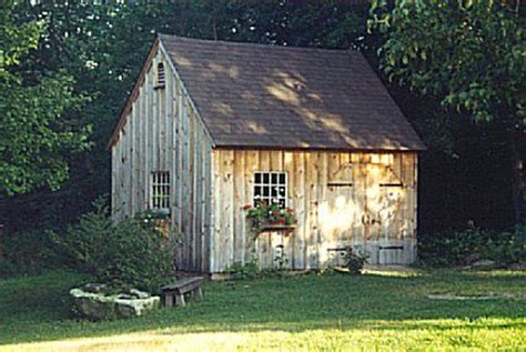 country garden sheds style post  beam carriage