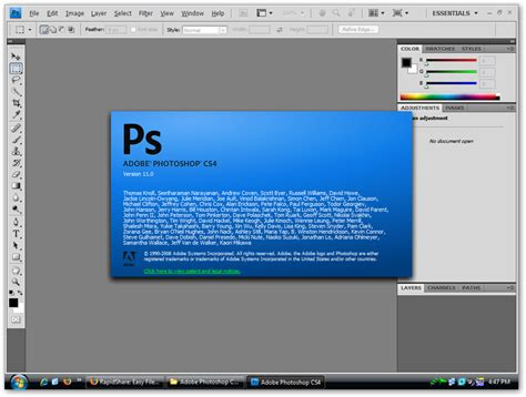 photoshop software adobe photoshop cs4 lite edition version 63mb only