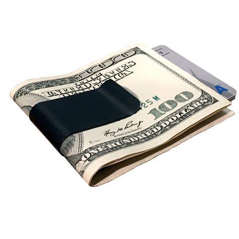 titanium money clip black titanium money clip by superior titanium