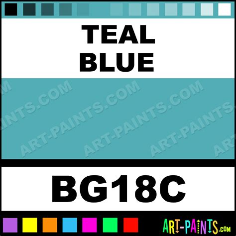 teal blue original paintmarker marking pen paints bg18c teal blue paint teal blue color