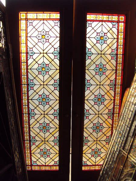 Antique Stained Glass Door Antique Doors Furniture For Sale In Pennsylvania Oley