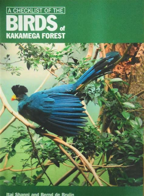 50 top birding in kenya books checklist of the birds of kakamega forest nature kenya