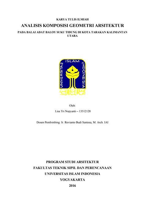 Buku Komposisi Arsitektur Ed 1 analisis komposisi geometri arsitektur balai adat baloy