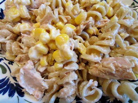 pasta salad with tuna tuna pasta salad recipe dishmaps