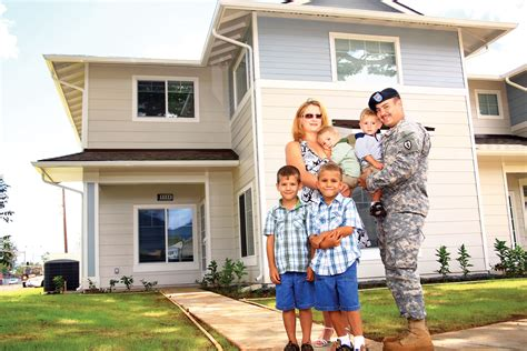 family and home military housing military aloha