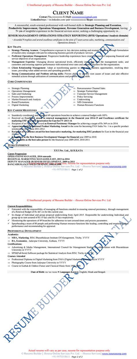 Mid Level Resume by Free Resume Sles Free Cv Template Free Cv