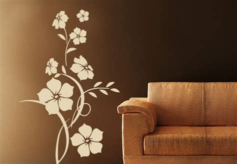 flower design on wall floral wall decals pretty wall decals floral decals