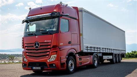 Mercedes Truck 2019 by 2019 Mercedes Actros New Flagship Truck