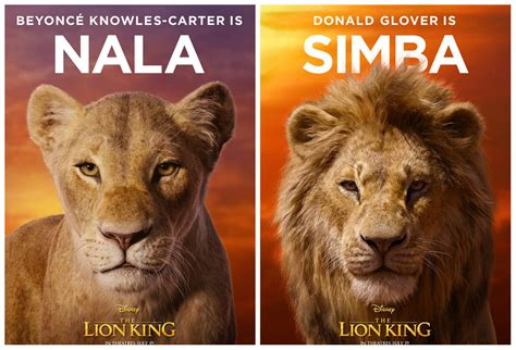 beyonce revela visual de nala em novo poster de  rei