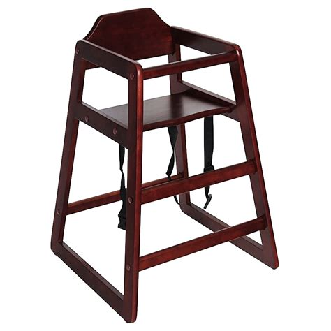 stackable baby wooden feeding commercial home high