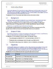 government statement of work template flickr photo