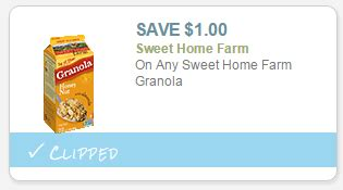 sweet home farm granola sweet home farm coupon save 1 00