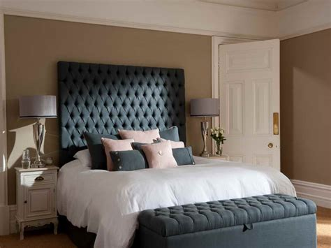 bed headboard ideas grey painted bed headboard ideas