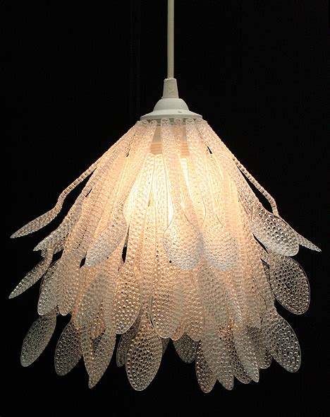 28 Creative Ways To Repurpose And Reuse Plastic Spoons Chandeliers Made From Recycled Materials