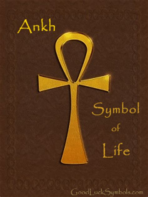 ankh the egyptian cross symbol meaning