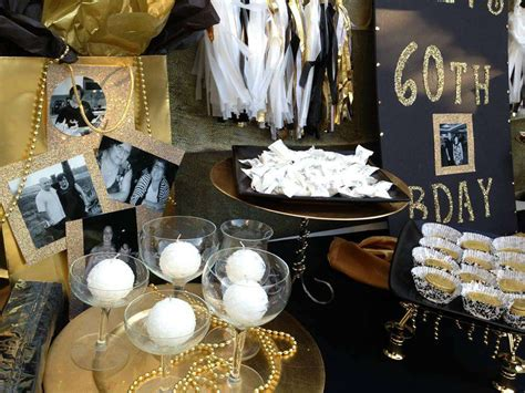 Black And Gold Birthday Decorations by Black Gold Birthday Ideas Photo 1 Of 16 Catch