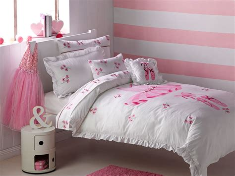 dance bedding tutu quilt cover set doona duvet girls ballerina bedding