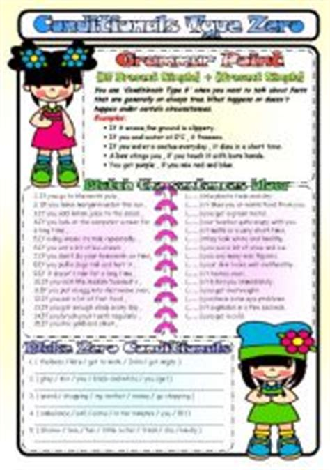 if clauses pattern 3 conditionals esl printable worksheets and exercises