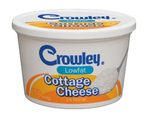 crowley foods 174 lowfat cottage cheese
