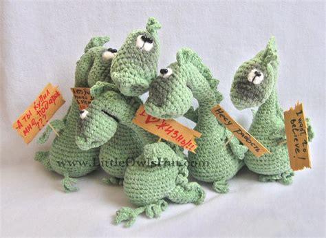 etsy dragon pattern 007 dragon draco amigurumi pertseva by littleowlshut craftsy