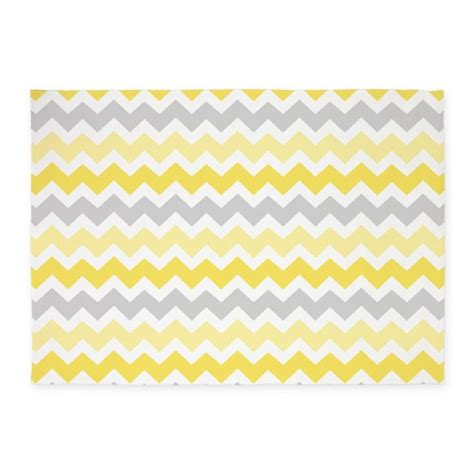 gray and white chevron area rug yellow grey white chevron 5 x7 area rug by dreamingmindcards
