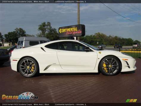 Scuderia Black White 2009 f430 scuderia coupe white avus black photo 2 dealerrevs