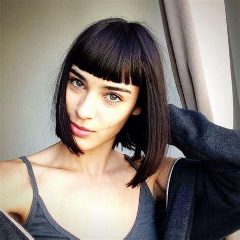 hair on pinterest blunt bangs bangs and nashville fashion best 20 blunt fringe ideas on pinterest