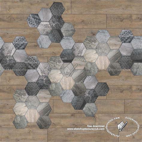 Hexagonal tile texture seamless 18114